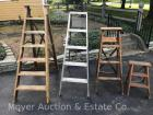 4 Step Ladders, from 2ft. - 5ft. tall. Bid is for all 4