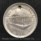 "Pan-American Exposition 1901 Buffalo NY Souvenir ""Chile"" Token, Punctured, 1 1/4""wide"