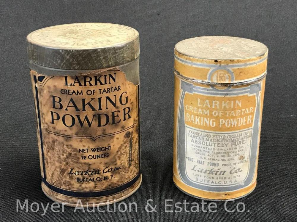 Group of Larkin Baking Powder